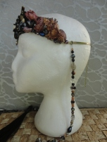 Stunt Double crown left side w bead strands