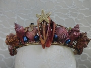 Third Mermaid Crown -Front close up