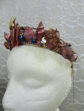 Third Mermaid Crown - Left Side