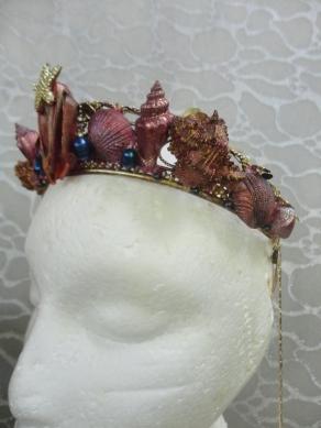 Third Mermaid Crown - Left Side