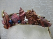 Third Mermaid Crown - Left Side close up