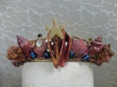 Third Mermaid Crown - Front close up